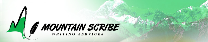 Mountain Scribe Writing Services can help you deliver your message.